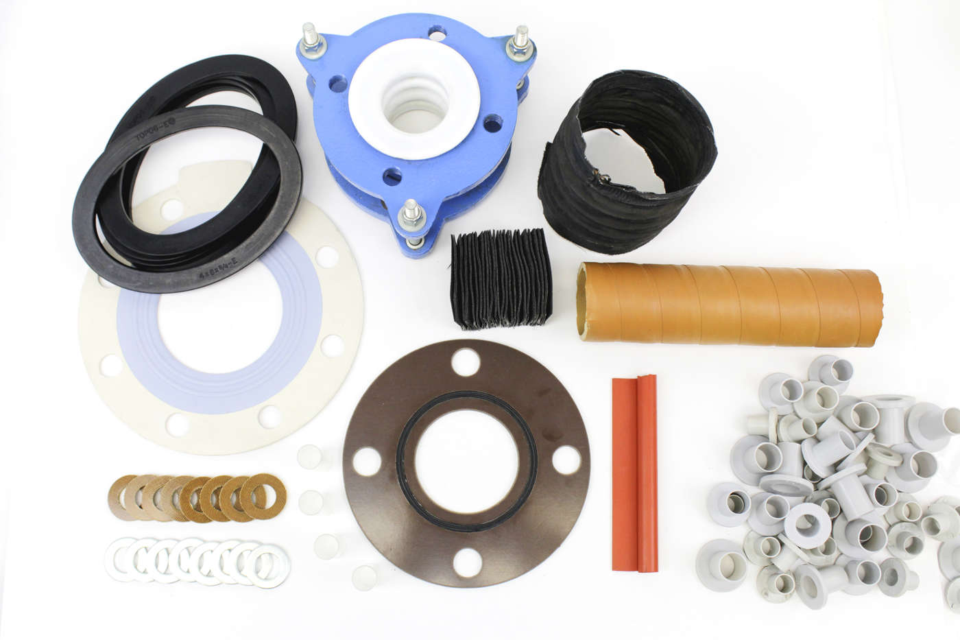 Flange isolation kits